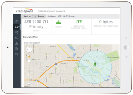 Cradlepoint Enterprise Cloud Manager | MobileWANStore com