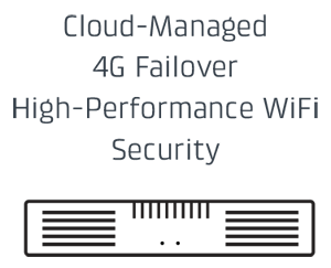 Cloud-Managed 4G Failover High-Performance WiFi Security